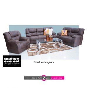 caledon fabric lounge suite magnum Grafton Everest