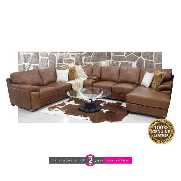 long beach lounger 100% full genuine leather furniturevibe
