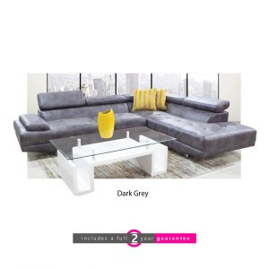 l shape fabric lounge suite