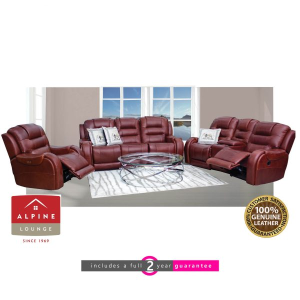 Rocco Leather Lounge suite furniturevibe
