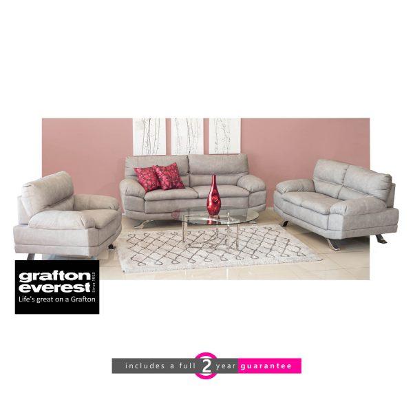 Sheena fabric lounge suite furniturevibe