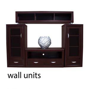 7 Wall Units