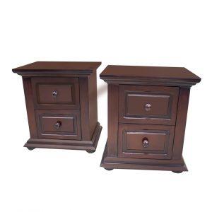 2 Bedroom Pedestals