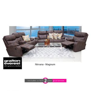 nirvana fabric lounge suite Grafton Everest magnum