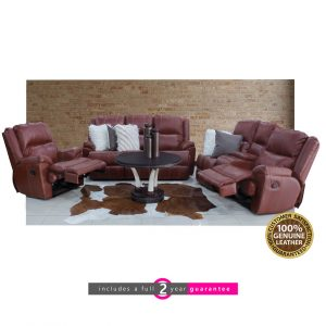 iNyathi leather lounge suite furniturevibe
