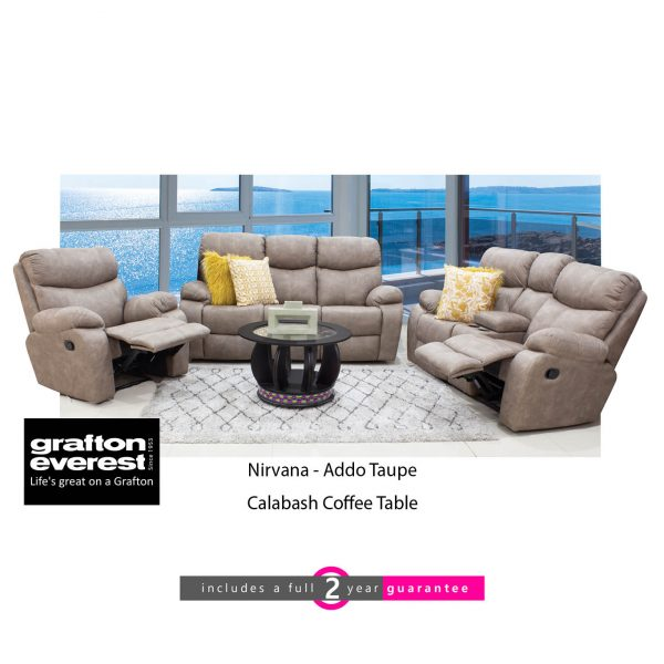 Grafton Everest Nirvana 3 action Addo Taupe calabash coffee table furniturevibe