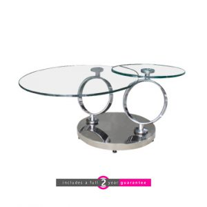 stainless steel swivel coffee table furniturevibe