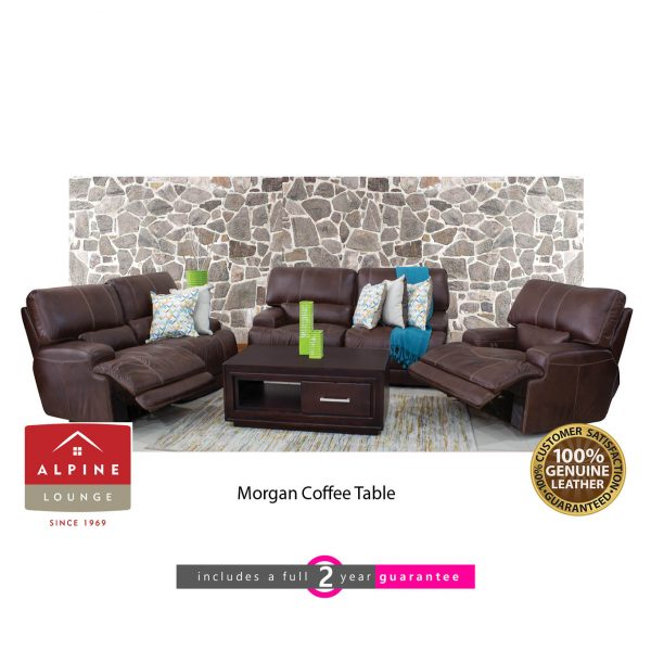 Madrid 3:2:1 leather motion lounge suite furniturevibe