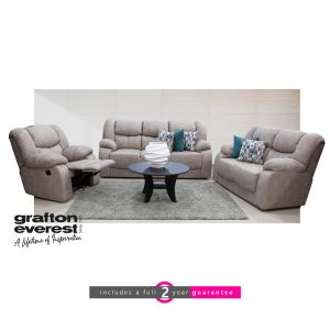Grafton Everest lounge suite with one recliner