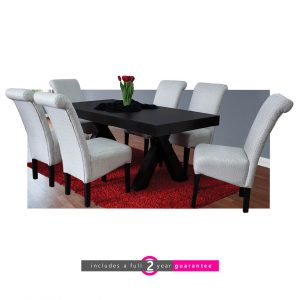 6 seater dining room suite furniturevibe