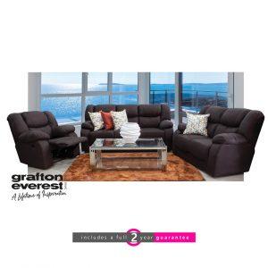 Grafton Everest recliner lounge suite