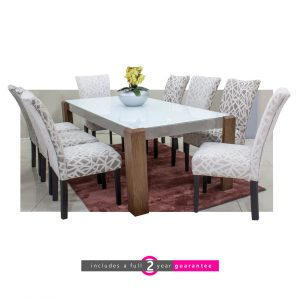 glass table and chairs furniturevibe