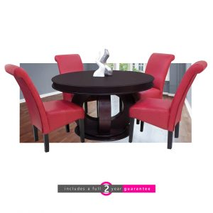 wood round dining room table furniturevibe