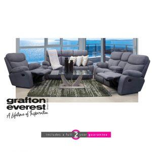 grafton everest motion fabric lounge suite