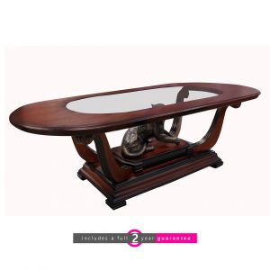 wood and glass coffee table furniturevibe